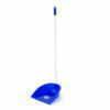 Făraș plastic albastru cu mâner ergonomic