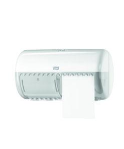Dispenser 2 role hârtie igienică mică Tork